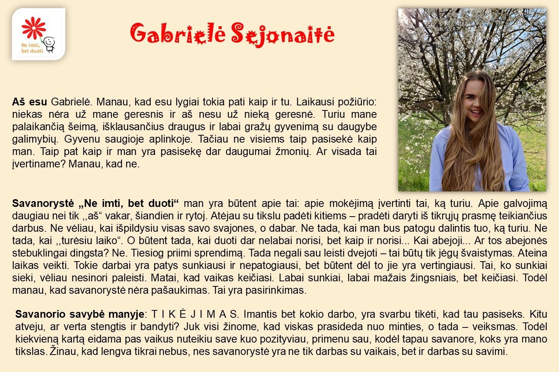 Gabriele-Sejonaite