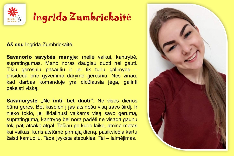 Ingrida-Zumbrickaite