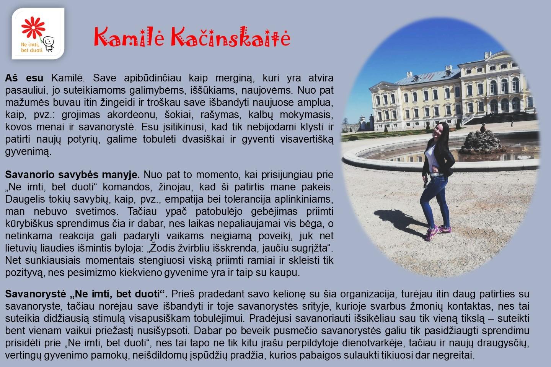 Kamile-Kacinskaite