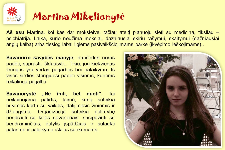 Martina-Mikelionyte